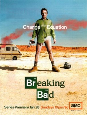 Breaking Bad movie poster (2008) poster MOV_a1327335
