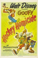 Hockey Homicide movie poster (1945) picture MOV_a138e50b