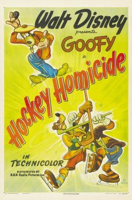 Hockey Homicide movie poster (1945) poster MOV_a138e50b