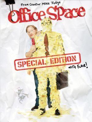 Office Space movie poster (1999) poster MOV_a145323b