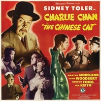 Charlie Chan in The Chinese Cat movie poster (1944) picture MOV_a1485c8a