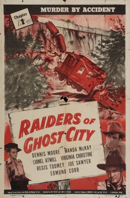 Raiders of Ghost City movie poster (1944) poster MOV_a14e9d6b