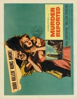 Murder Reported movie poster (1958) picture MOV_a156a4ac