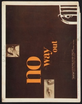 No Way Out movie poster (1950) poster MOV_a160edc7