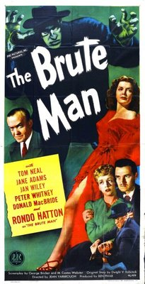 The Brute Man movie poster (1946) poster MOV_a16fa5ea