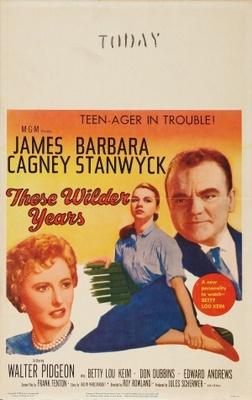 These Wilder Years movie poster (1956) poster MOV_a17a3484