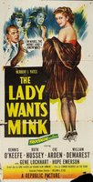 The Lady Wants Mink movie poster (1953) picture MOV_a181e6f8