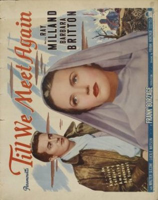 Till We Meet Again movie poster (1944) poster MOV_a1851701