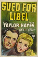Sued for Libel movie poster (1939) picture MOV_a19a78af