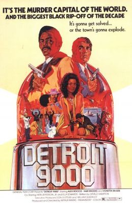Detroit 9000 movie poster (1973) poster MOV_a1a2c717
