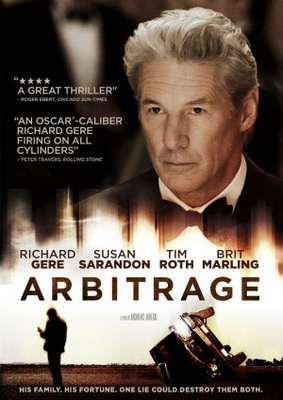 Arbitrage movie poster (2012) poster MOV_a1a67a11