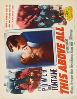 This Above All movie poster (1942) picture MOV_a1aad724