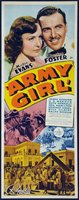 Army Girl movie poster (1938) picture MOV_a1b27f16
