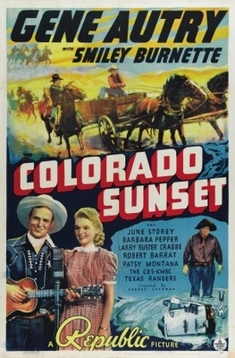 Colorado Sunset movie poster (1939) poster MOV_a1b59c3f