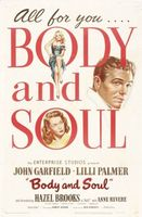 Body and Soul movie poster (1947) picture MOV_a20bd607