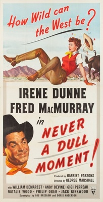 Never a Dull Moment movie poster (1950) poster MOV_a20ee3a1