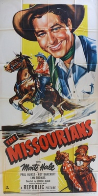 The Missourians movie poster (1950) poster MOV_a2259be7