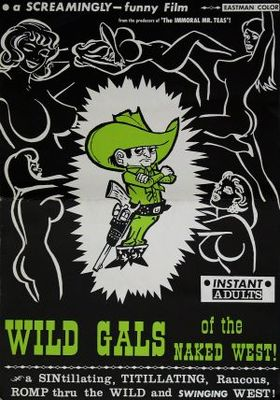 Wild Gals of the Naked West movie poster (1962) poster MOV_a2385041