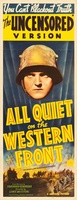 All Quiet on the Western Front movie poster (1930) picture MOV_a24e0644