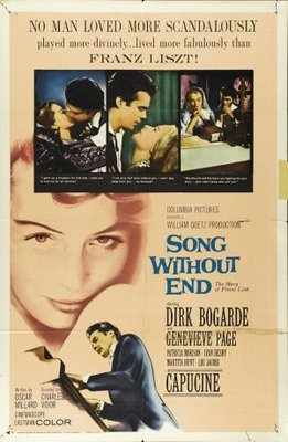 Song Without End movie poster (1960) poster MOV_a2665f7e