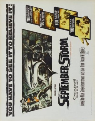 September Storm movie poster (1960) poster MOV_a2717abc