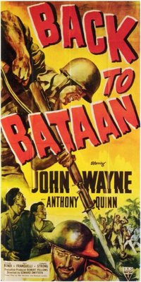 Back to Bataan movie poster (1945) poster MOV_a272fbe2