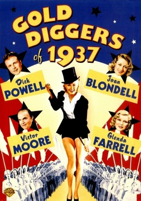 Gold Diggers of 1937 movie poster (1936) poster MOV_a274bae2