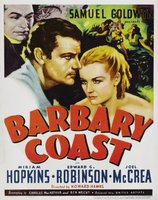Barbary Coast movie poster (1935) picture MOV_a27d3764