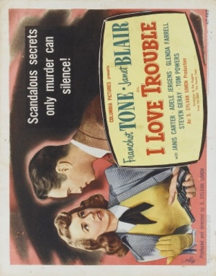 I Love Trouble movie poster (1948) poster MOV_a2851995