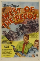 West of the Pecos movie poster (1945) picture MOV_a287da30