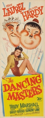 The Dancing Masters movie poster (1943) poster MOV_a2a68f9f