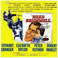 Beau Brummell movie poster (1954) picture MOV_a2cee642