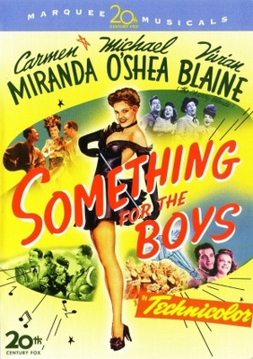 Something for the Boys movie poster (1944) poster MOV_a30bd704