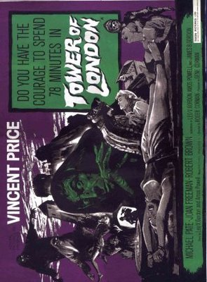 Tower of London movie poster (1962) poster MOV_a32dd775