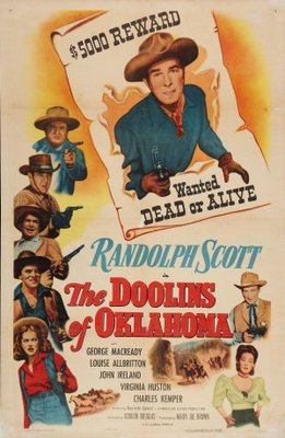 The Doolins of Oklahoma movie poster (1949) poster MOV_a3314d53