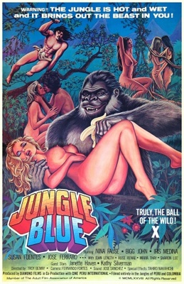 Jungle Blue movie poster (1978) poster MOV_a35cd190