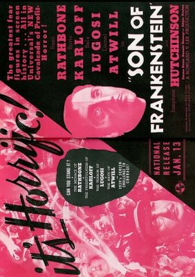 Son of Frankenstein movie poster (1939) poster MOV_a35f3c58