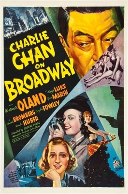 Charlie Chan on Broadway movie poster (1937) poster MOV_a36a7380