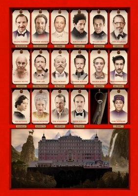 The Grand Budapest Hotel movie poster (2014) poster MOV_a373c01f