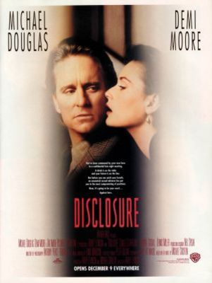 Disclosure movie poster (1994) poster MOV_a3860930