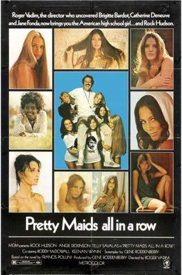 Pretty Maids All in a Row movie poster (1971) poster MOV_a388c523
