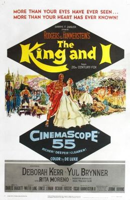 The King and I movie poster (1956) poster MOV_a3a43266