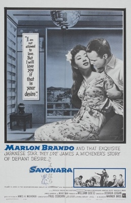 Sayonara movie poster (1957) poster MOV_a3a62210