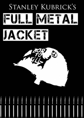 Full Metal Jacket movie poster (1987) poster MOV_a3b6f67f