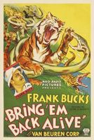 Bring 'Em Back Alive movie poster (1932) picture MOV_a416a7b0