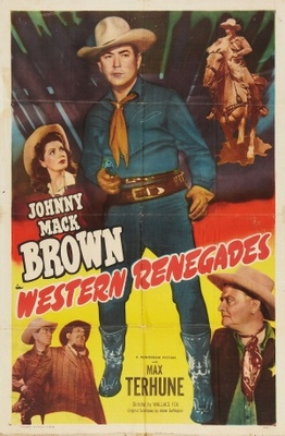 Western Renegades movie poster (1949) poster MOV_a426b12a