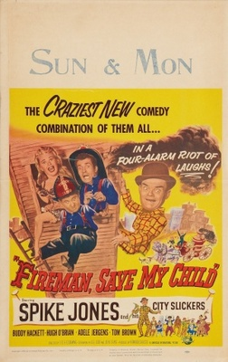 Fireman Save My Child movie poster (1954) poster MOV_a431f223