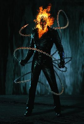 Ghost Rider movie poster (2007) poster MOV_a43e10c5