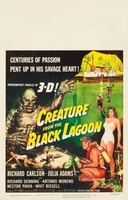 Creature from the Black Lagoon movie poster (1954) picture MOV_a44adeb6