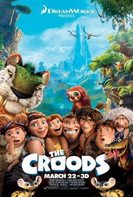 The Croods movie poster (2013) poster MOV_a4536a47